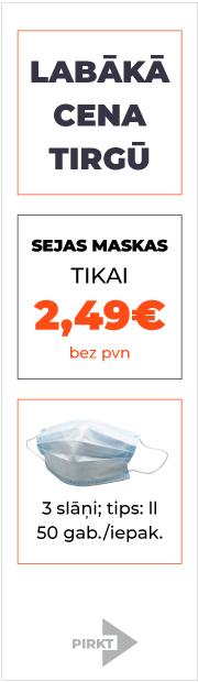 Sejas maskas - laba cena!